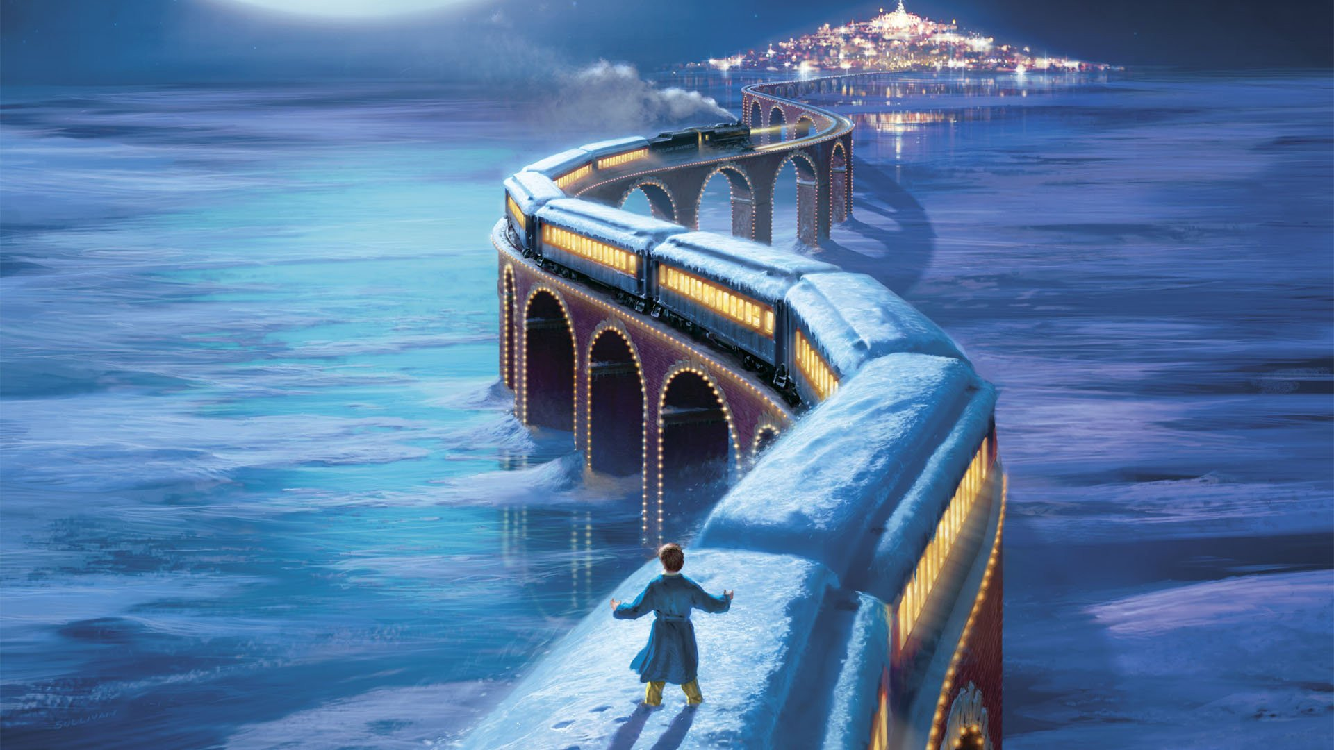 The polar express full hd wallpaper and background image 1920x1080 id 336248 - Polar express hd ...