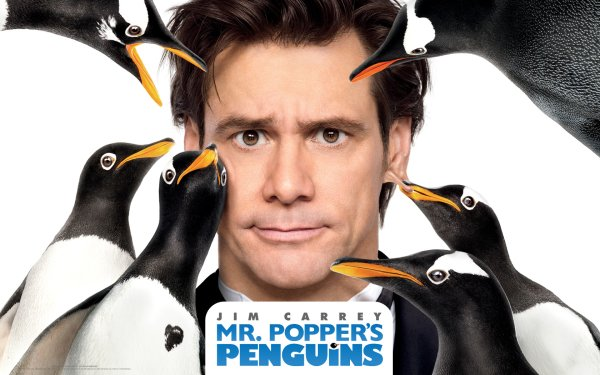Movie Mr. Popper's Penguins Jim Carrey HD Wallpaper | Background Image
