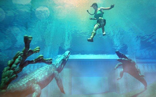 Video Game Tomb Raider: The Last Revelation Tomb Raider Lara Croft Last Revelation Lake HD Wallpaper   Background Image