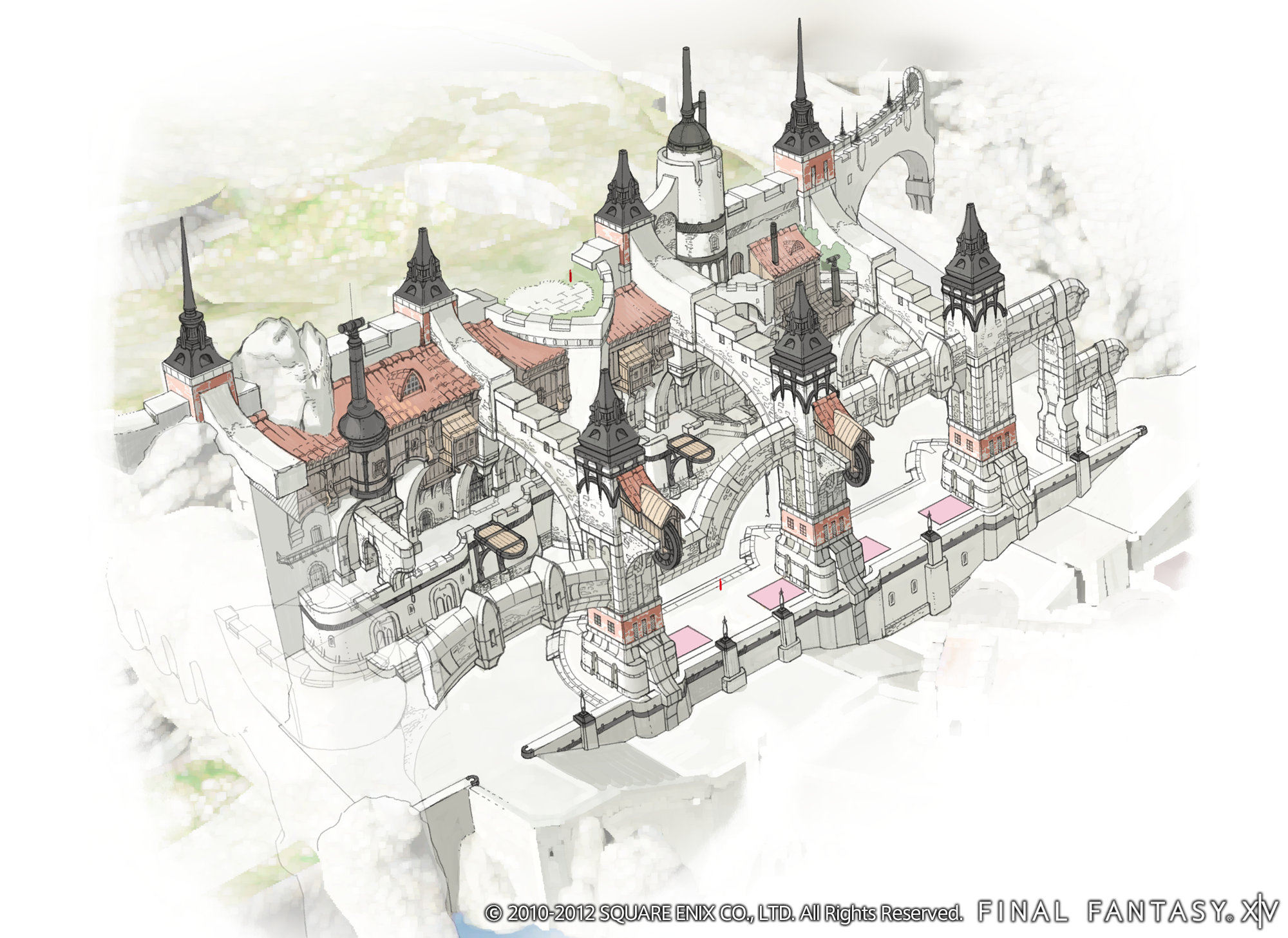 Final Fantasy Xiv A Realm Reborn Fantasy Art Wallpapers: Final Fantasy XIV: A Realm Reborn HD Wallpaper