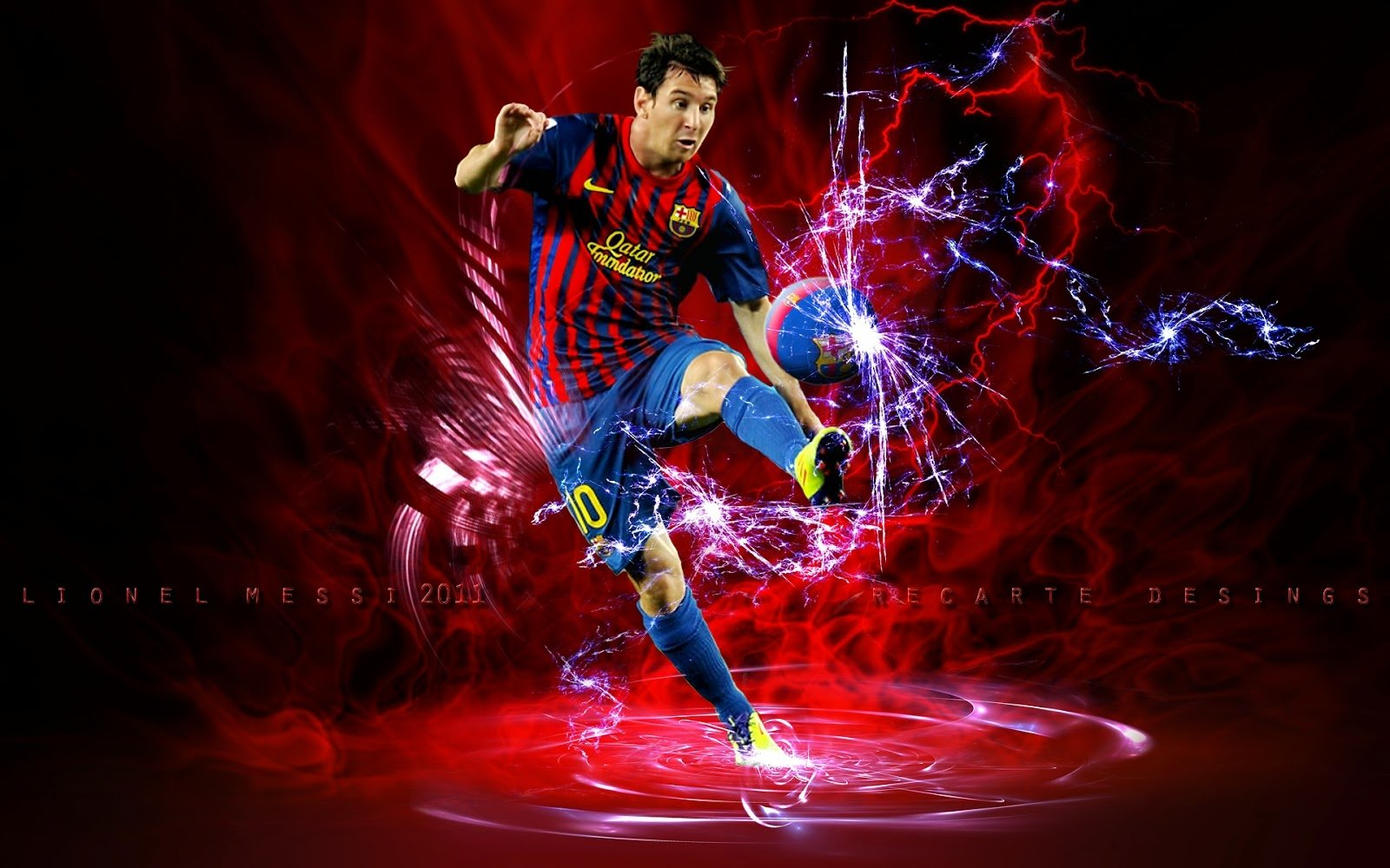 Lionel Messi Barcelona Wallpaper HD  Football