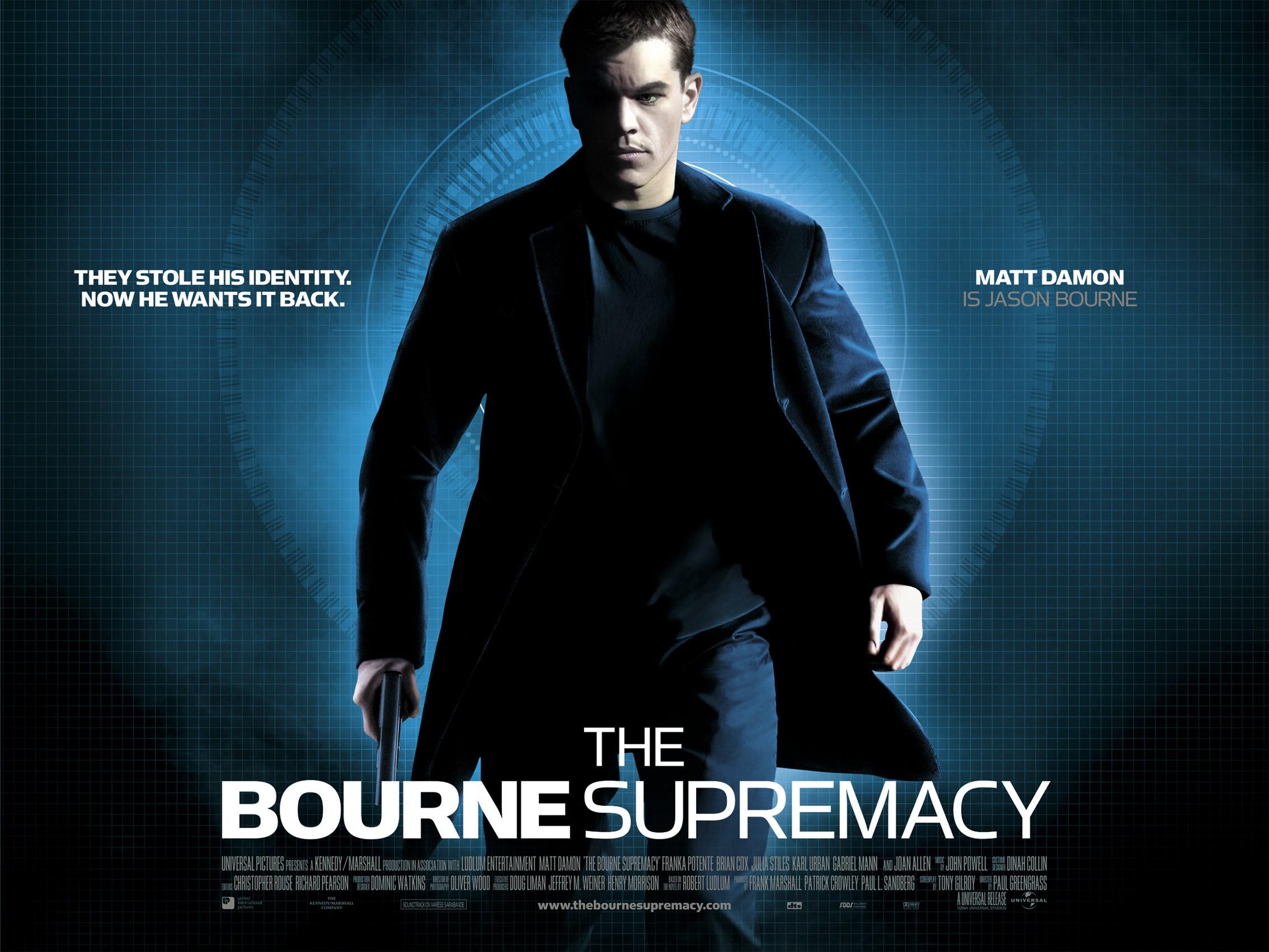 The Bourne Supremacy Stream English