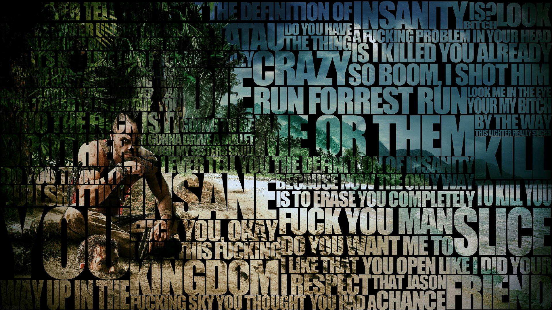 far cry 3 vaas typography computer wallpapers desktop