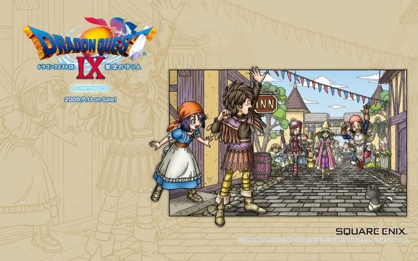 Video Game - dragon quest ix Wallpapers and Backgrounds