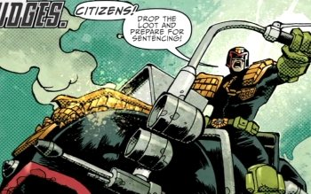 Comics - Judge Dredd Wallpapers and Backgrounds ID : 340889