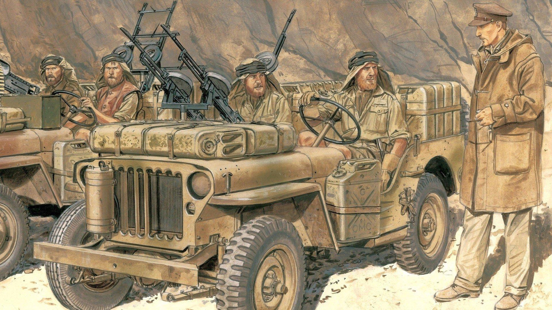 Lieutenant David Sterling British Sas Troops Hd Wallpaper Background Image 1920x1080