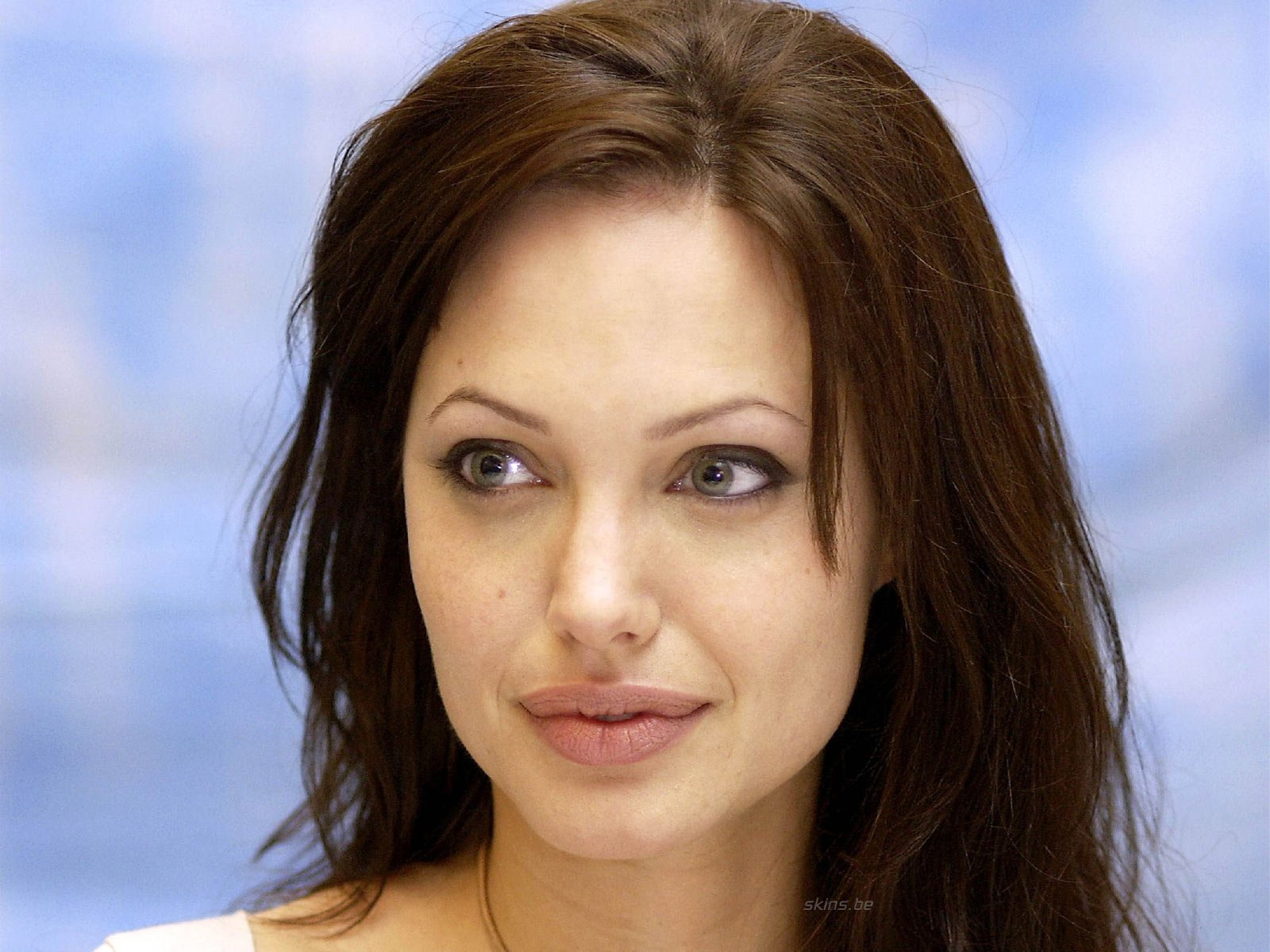 Celebrity - Angelina Jolie  Wallpaper