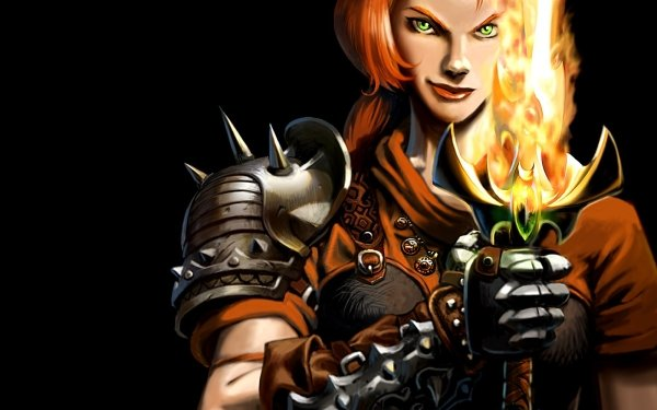 Video Game Dungeon Siege HD Wallpaper   Background Image