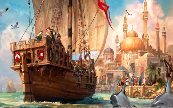 Video Game Anno 1404 HD Wallpaper | Background Image