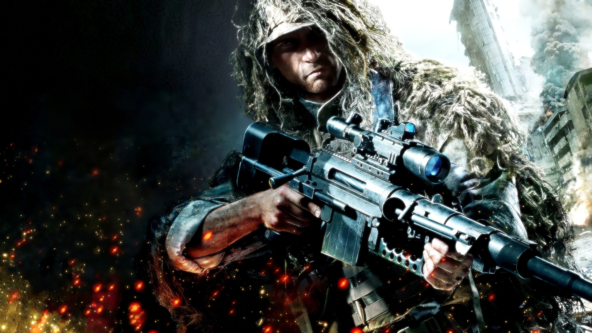 Sniper Ghost Warrior Full HD Wallpaper And Background Image