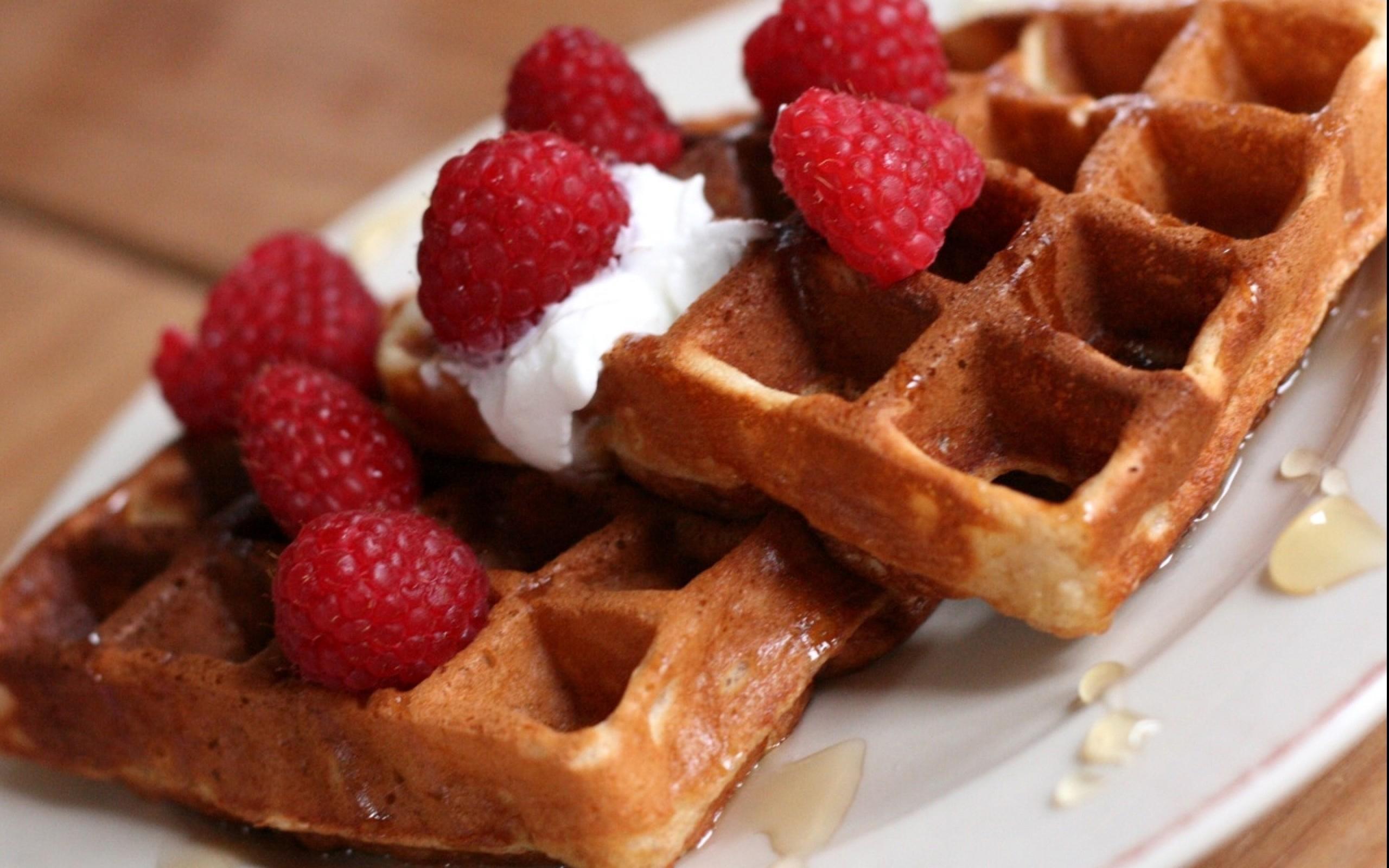 Alimento - Waffle  Sfondo