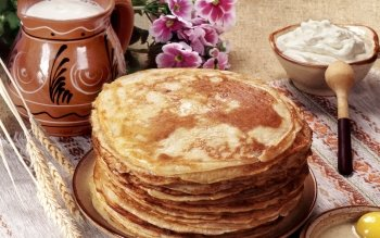 Food - Pancake Wallpapers and Backgrounds ID : 346098