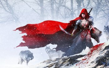 Fantasy - Red Riding Hood Wallpapers and Backgrounds ID : 346305