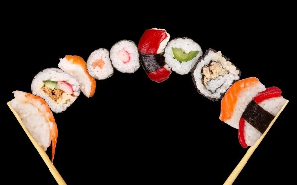 Food - sushi Wallpapers and Backgrounds