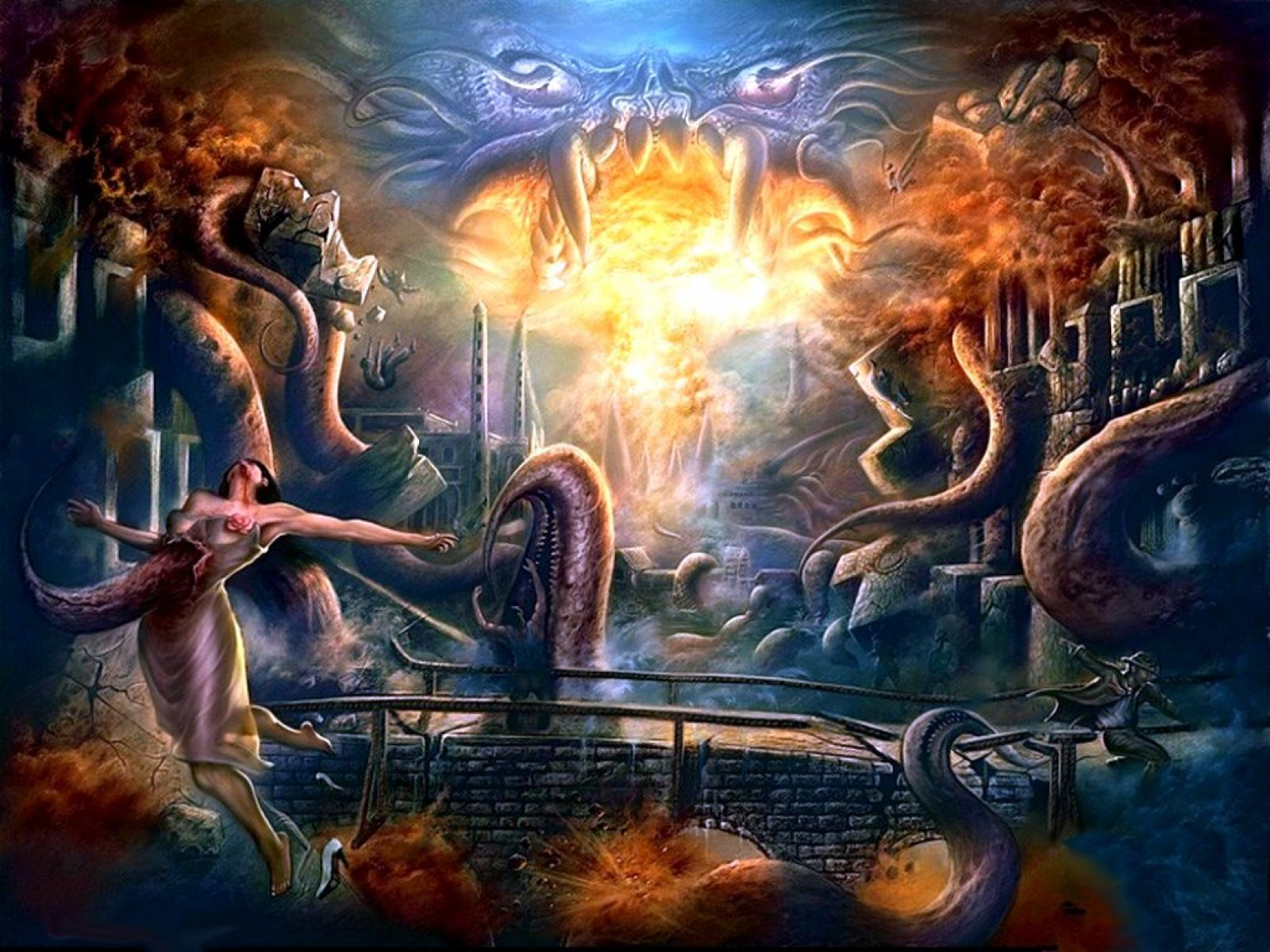 Hp Lovecraft Art Wallpapers: Cthulhu Wallpaper And Background