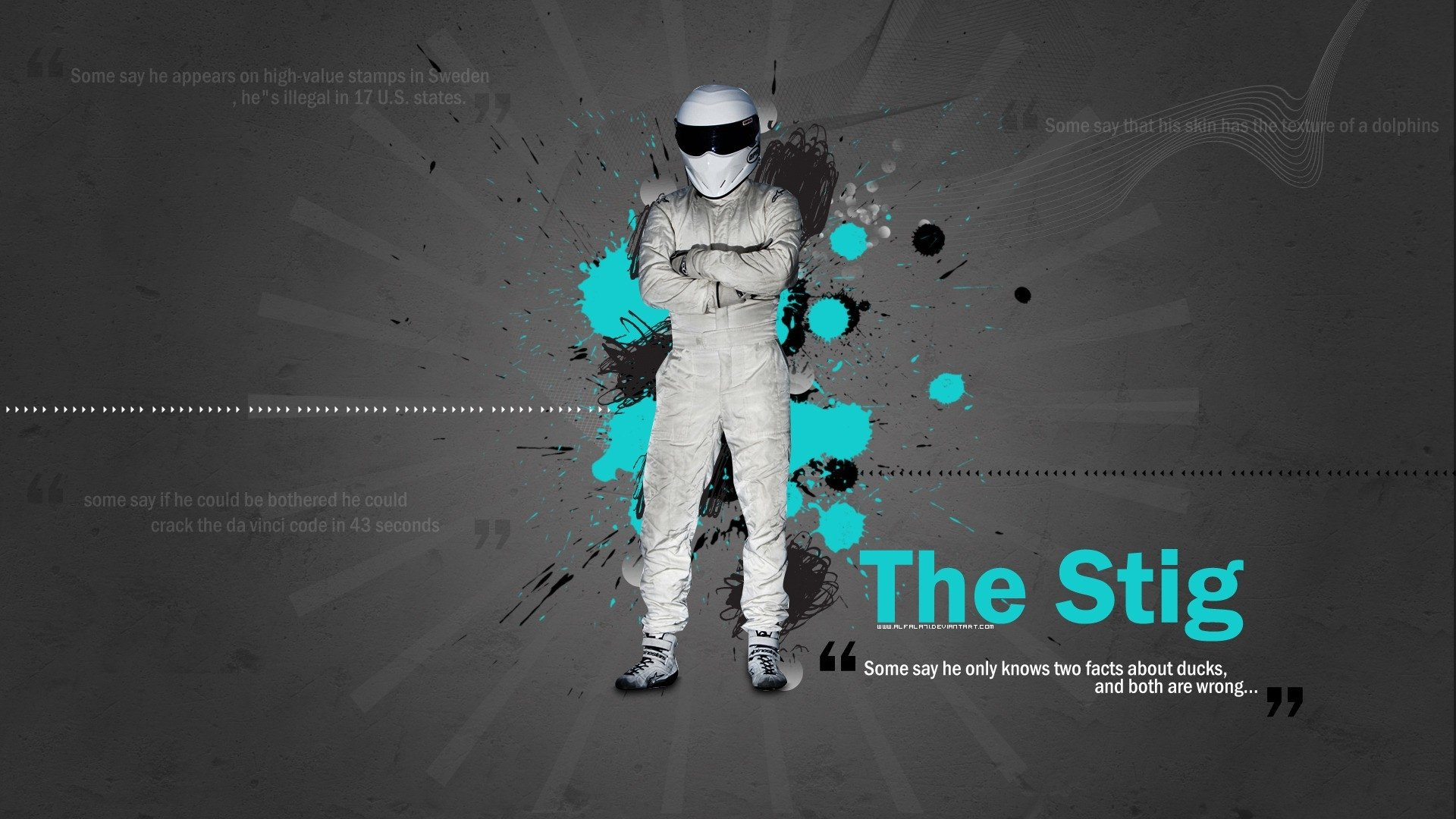 TV Show - Top Gear  Ben Collins The Stig (Top Gear) Wallpaper