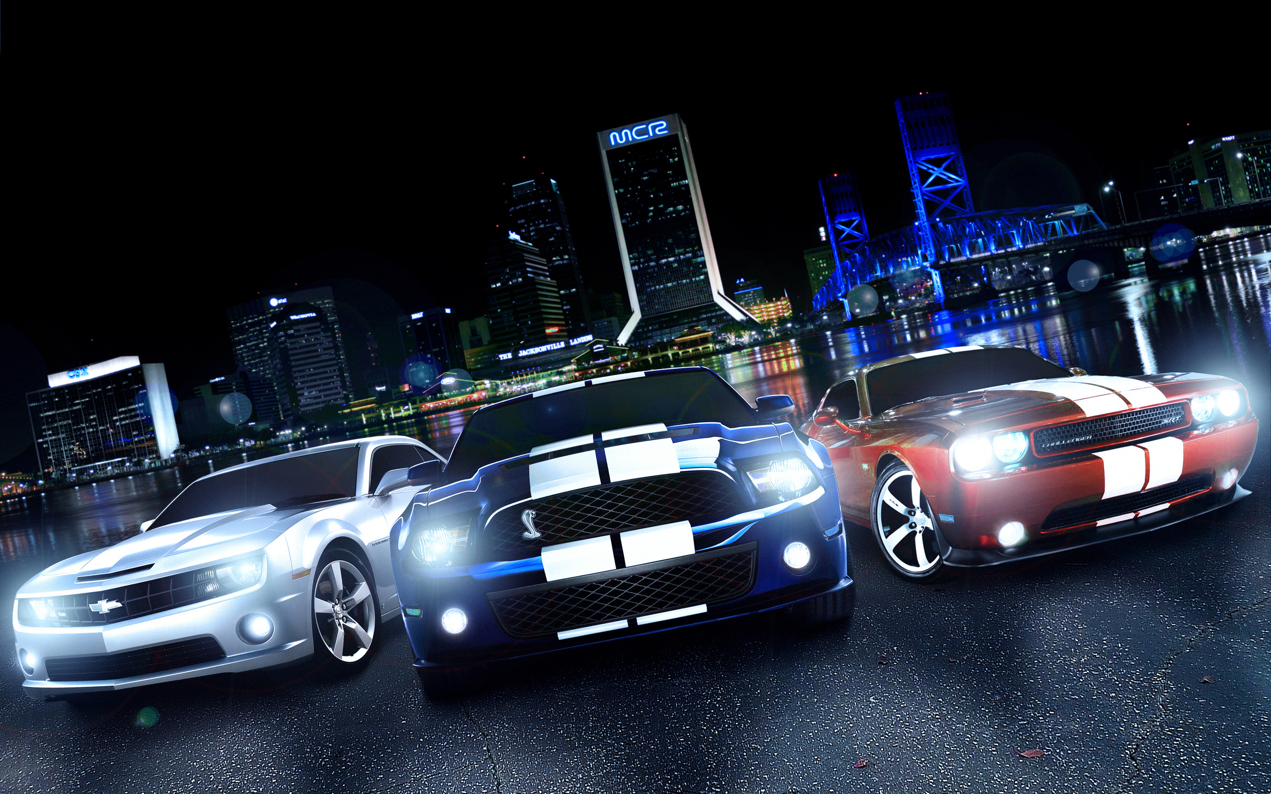 9 Muscle Car HD Wallpapers | Backgrounds - Wallpaper Abyss