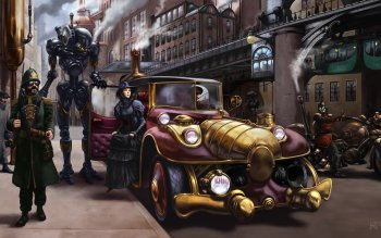 Sci Fi - Steampunk Wallpapers and Backgrounds ID : 350226