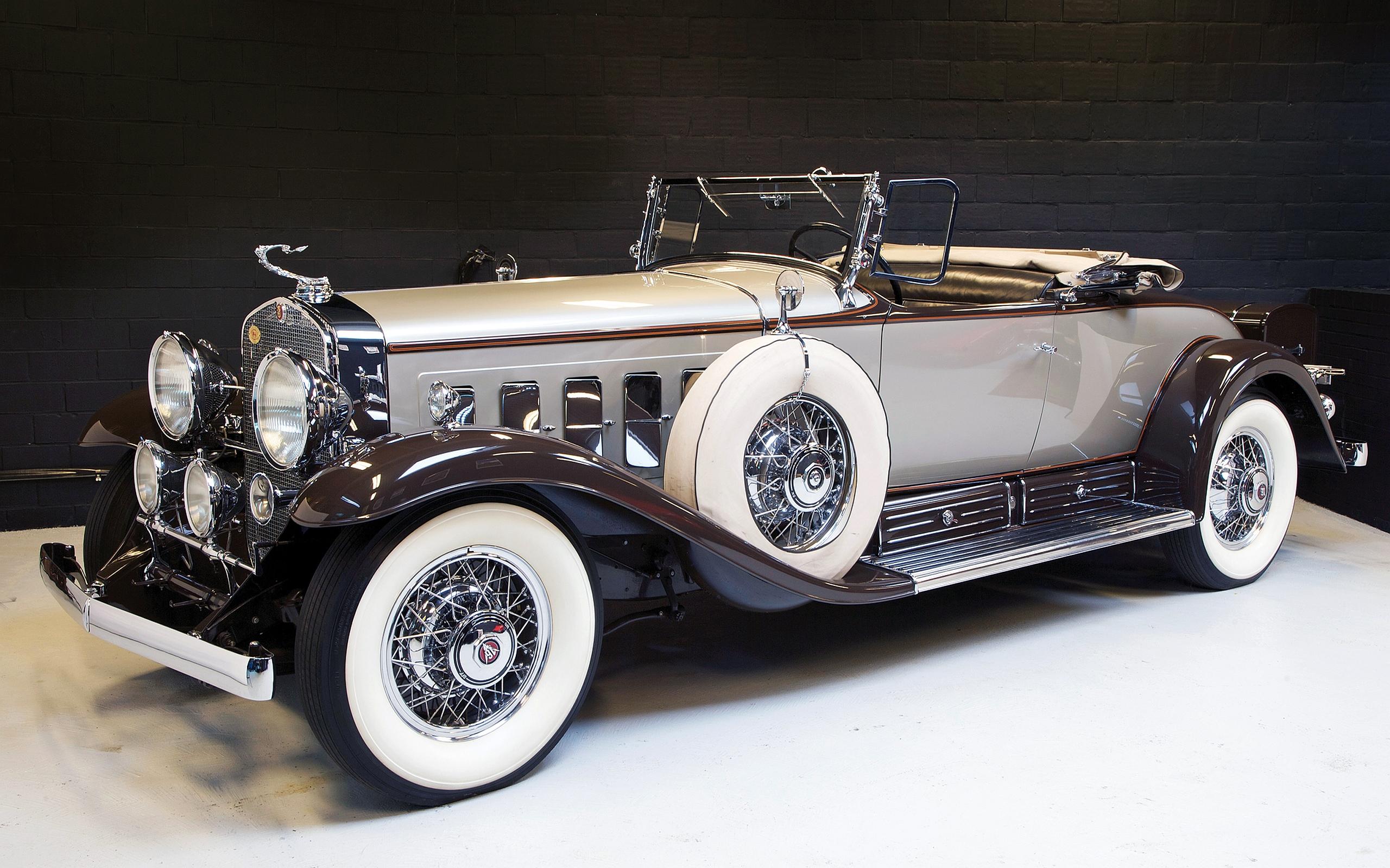 Hd Wallpaper From Samsung J2 Rolls Royce: 1930 Cadillac V16 Roadster HD Wallpaper