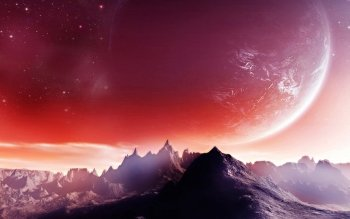 Science-Fiction - Landschaft Wallpapers and Backgrounds ID : 351024