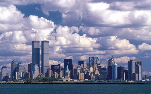 Man Made New York Cities United States Manhattan Statue of Liberty HD Wallpaper | Background Image