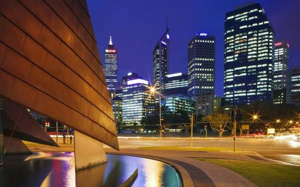 Man Made Perth Cities Australia Western Australia HD Wallpaper   Background Image