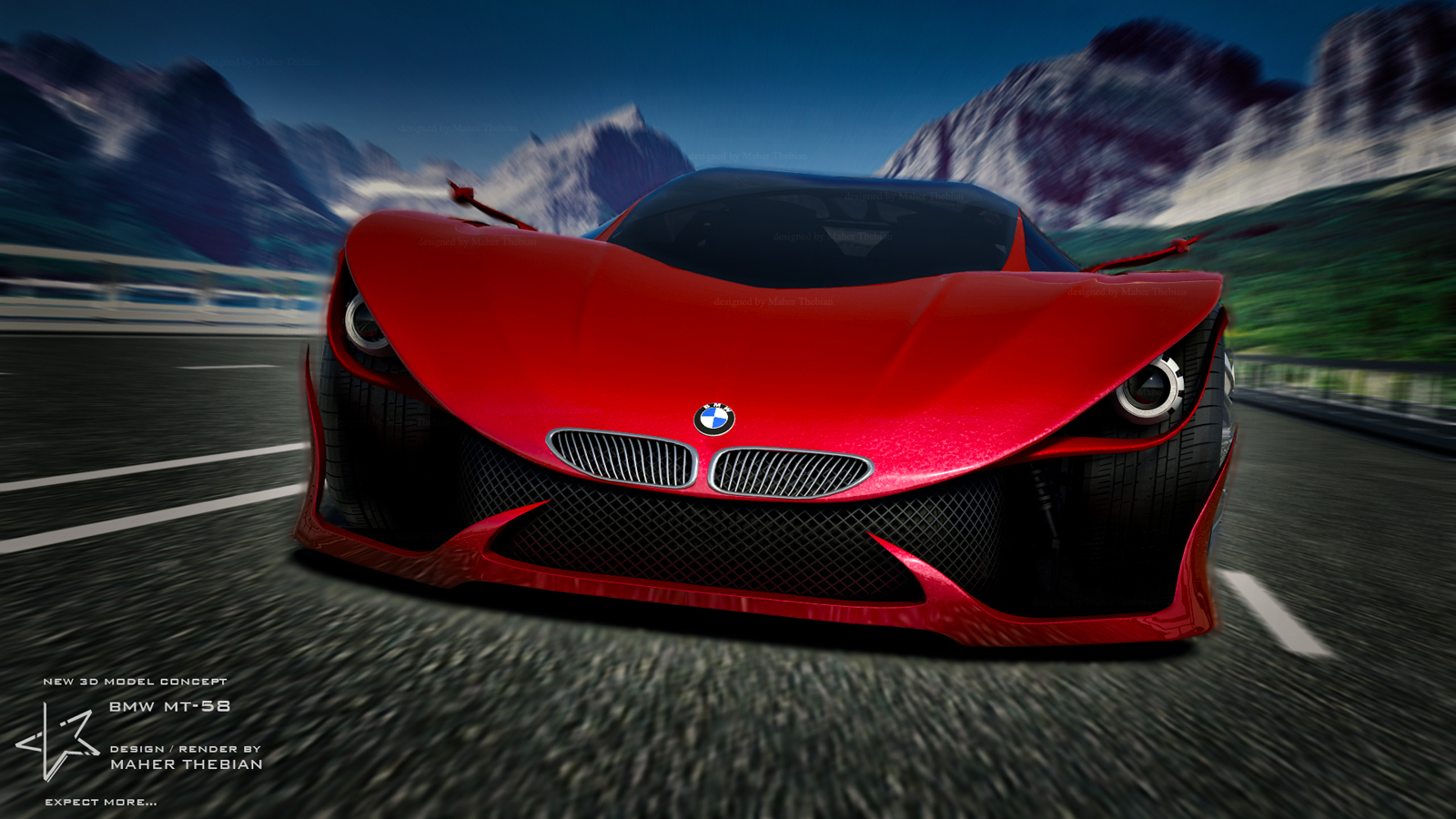 Bmw Python Mt 58 Wallpaper And Background Image 1600x900