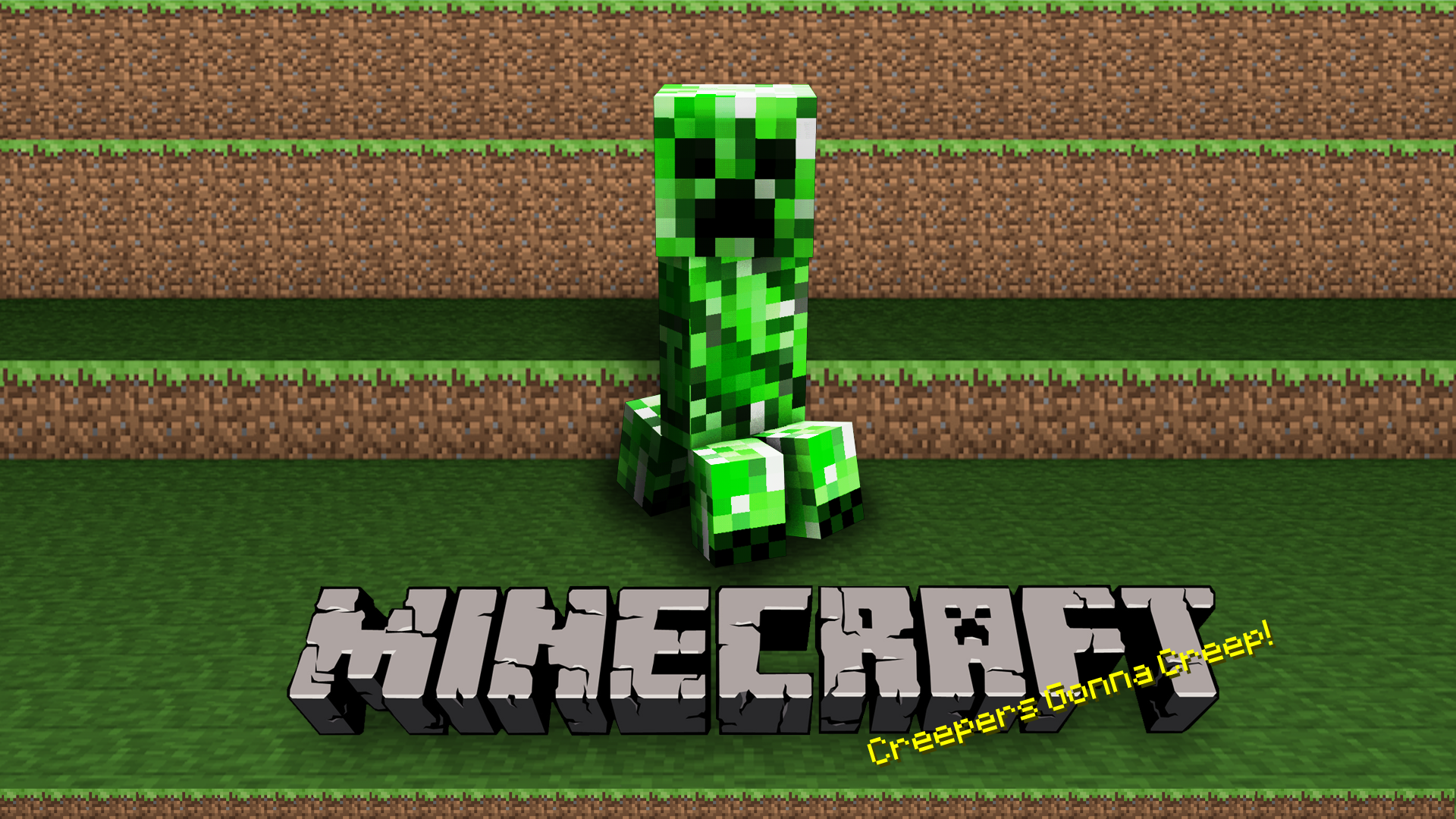 Video Game - Minecraft  Creeper (Minecraft) Mojang Video Game Wallpaper
