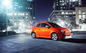 Vehicles - 2013 Fiat 500e Wallpapers and Backgrounds ID : 355370