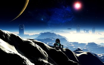 Science-Fiction - Landschaft Wallpapers and Backgrounds ID : 355908