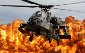 Militär - Boeing Ah-64 Apache  Wallpapers and Backgrounds ID : 355981