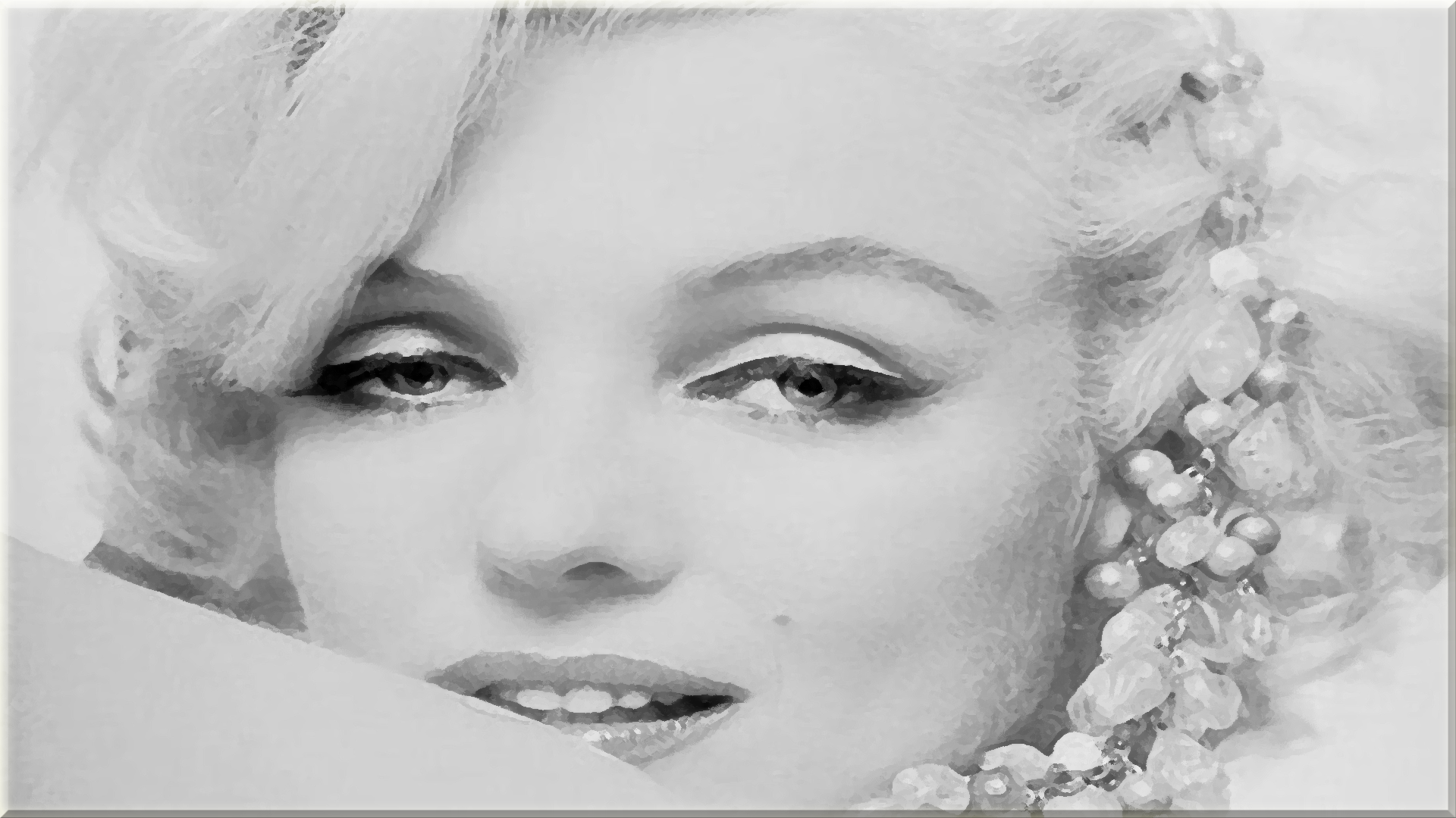 Marilyn monroe paint dabs hd wallpaper background image 1920x1080 id 356367 wallpaper abyss - Marilyn monroe wallpaper download ...