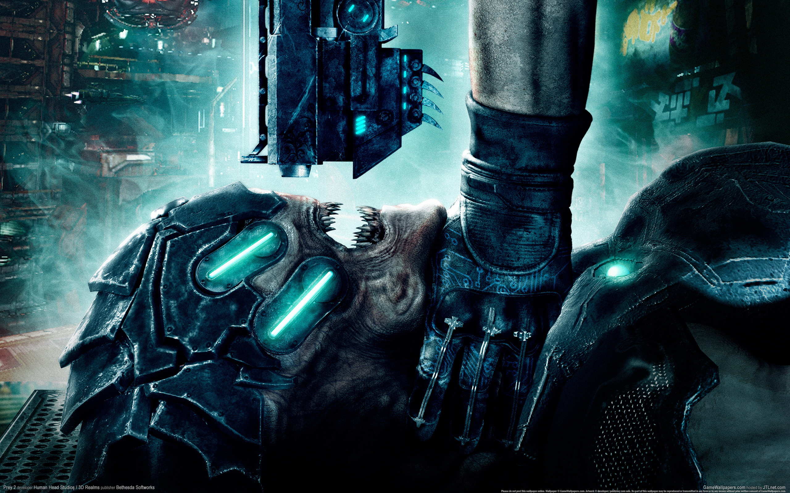 1 Prey 2 HD Wallpapers | Backgrounds - Wallpaper Abyss