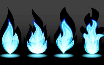 Artistic - Blue Flames Wallpapers and Backgrounds ID : 357212