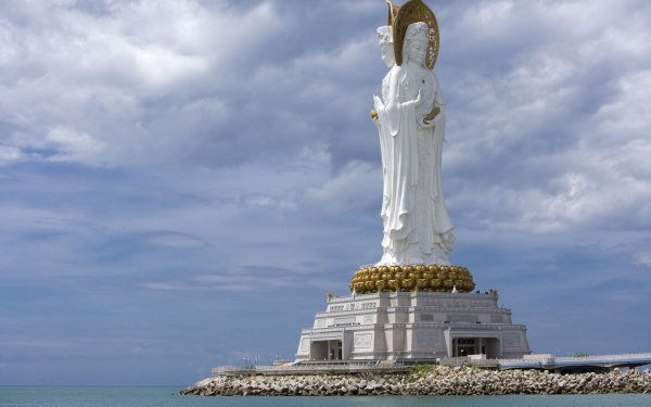 Religious Statue HD Wallpaper   Background Image