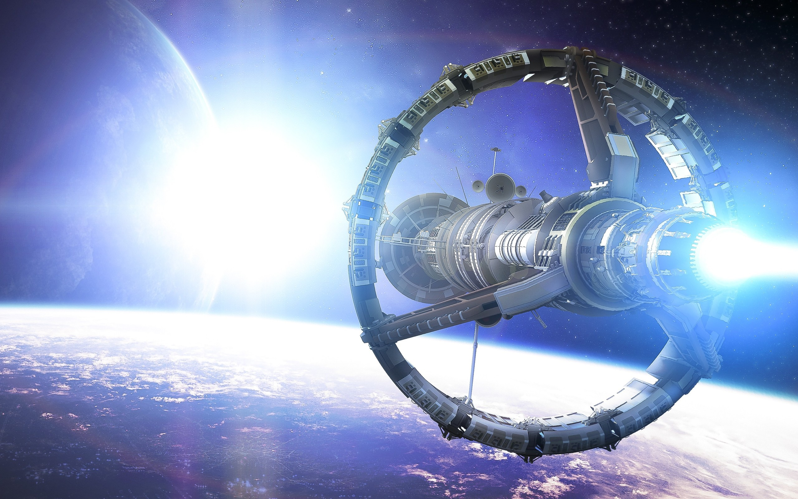 Spaceship Full HD Wallpaper and Background Image
