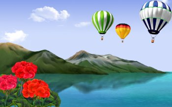 художественный - Balloon Wallpapers and Backgrounds ID : 360919