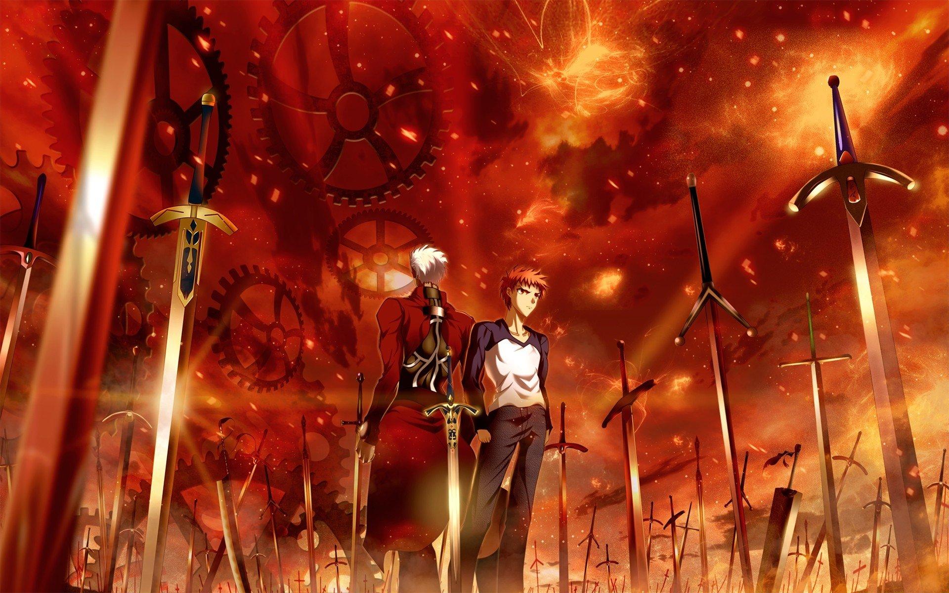 动漫 Fate命运之夜:无限剑制 Archer (Fate/Stay Night) Shirou ...