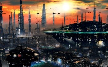 Sci Fi - City Wallpapers and Backgrounds ID : 361042