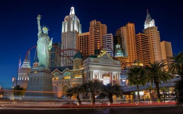 Man Made Las Vegas Cities United States Casino HD Wallpaper | Background Image