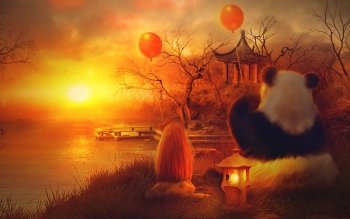 Artistico - Panda Wallpapers and Backgrounds ID : 363150