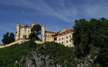 Construction Humaine - Hohenschwangau Castle Fonds d'écran et Arrière-plans ID : 363220