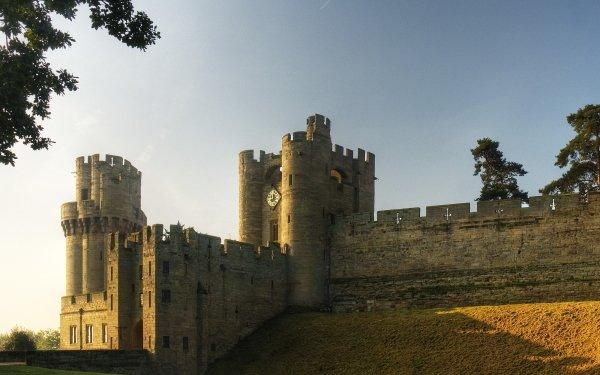 Man Made Warwick Castle Castles United Kingdom HD Wallpaper   Background Image