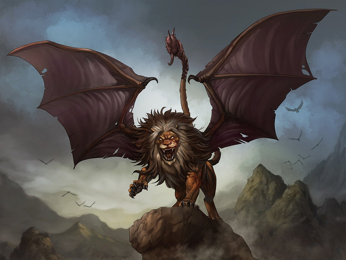 2 Manticore HD Wallpapers   Backgrounds - Wallpaper Abyss
