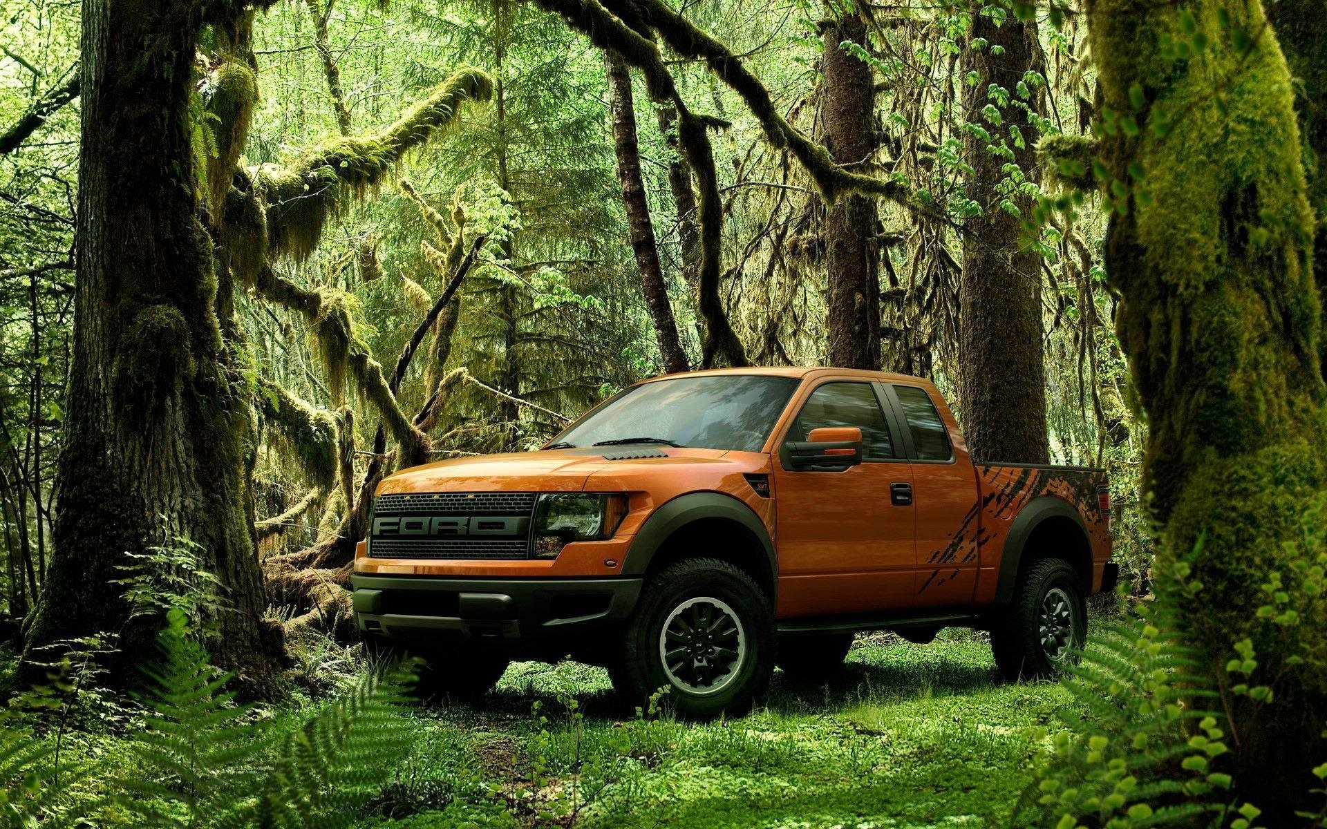 Ford Raptor Full HD Fond Dcran And Arrire Plan