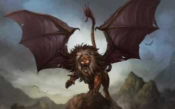 Fantasy - Manticore Wallpapers and Backgrounds ID : 366344