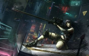 Sci Fi - Women Warrior Wallpapers and Backgrounds ID : 366448