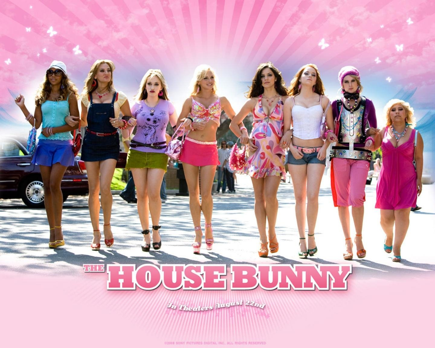 The house bunny 2008 movie poster