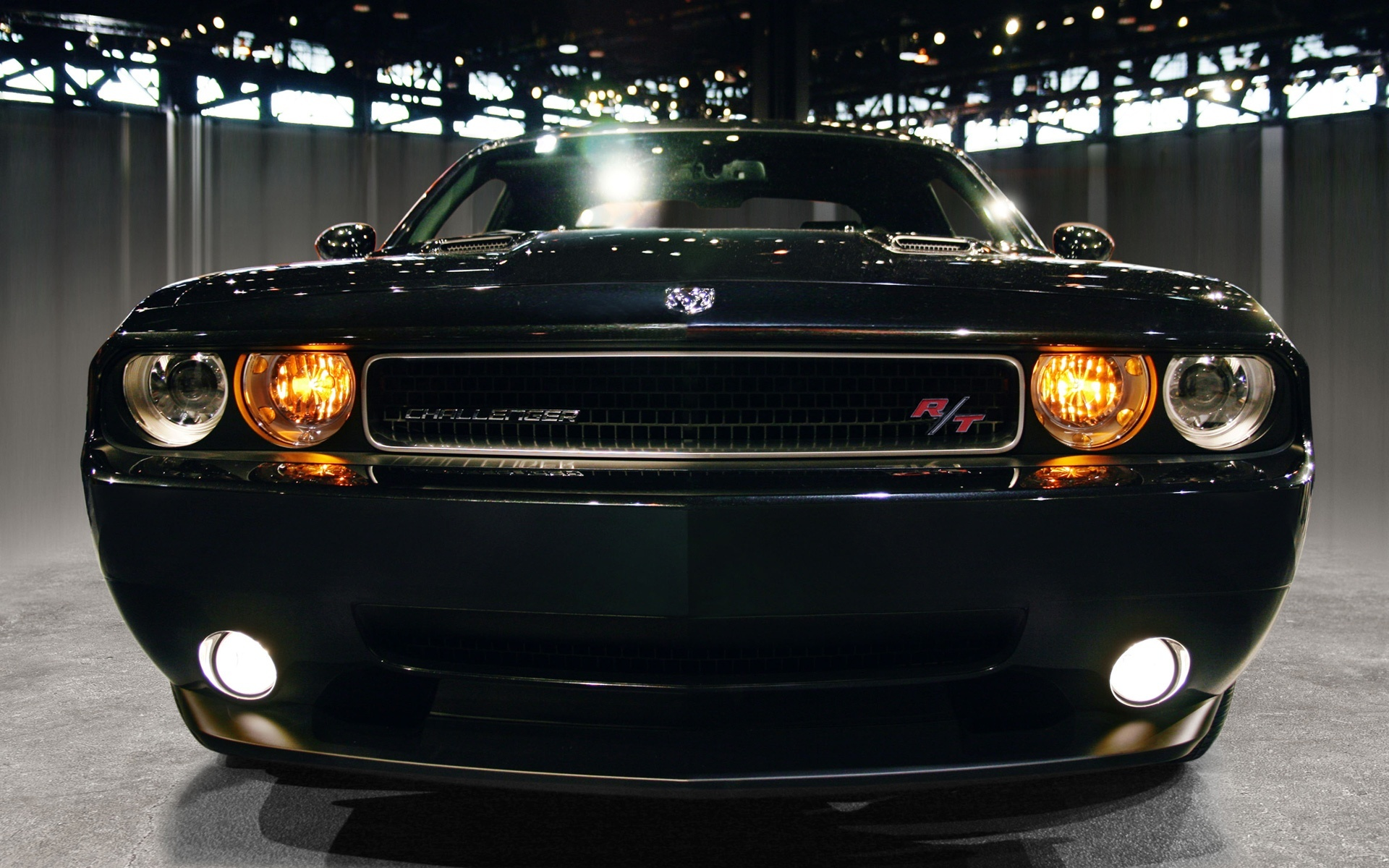 Dodge Challenger Rt Full Hd Wallpaper And Background Image