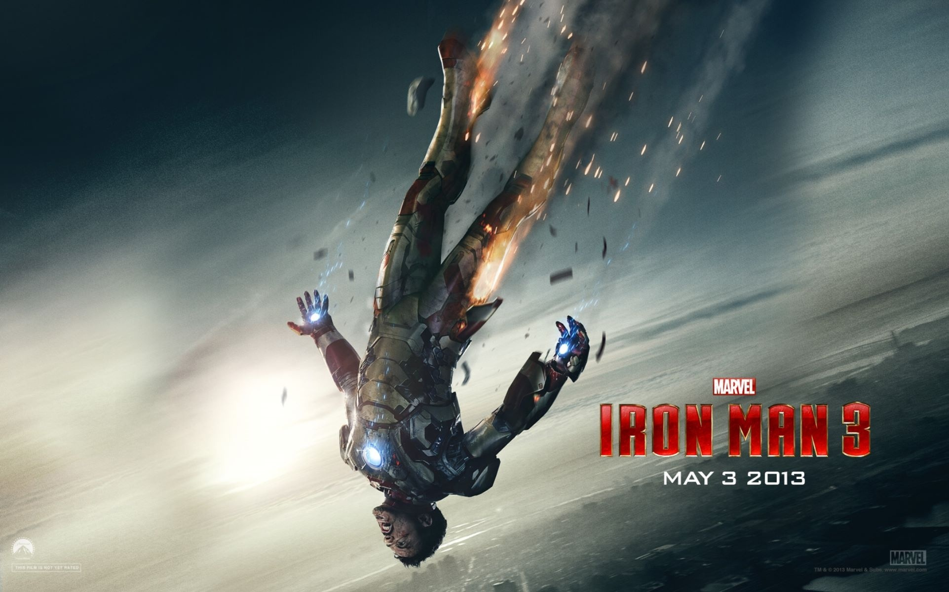 Iron Man 3 Heroes Fall HD Wallpaper